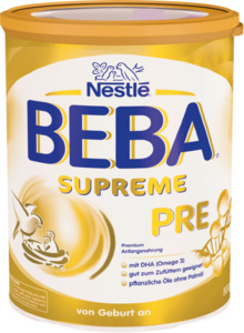 Nestlé BEBA Supreme Anfangsmilch Pre von Geburt an