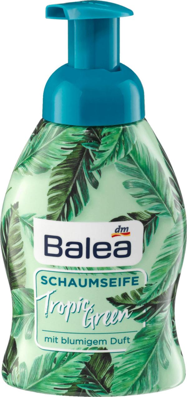 Balea Schaumseife Tropic Green