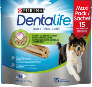 Dentalife Snack für Hunde, Zahnpflege Maxipack Medium