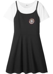 T-Shirt + Kleid (2-tlg.)