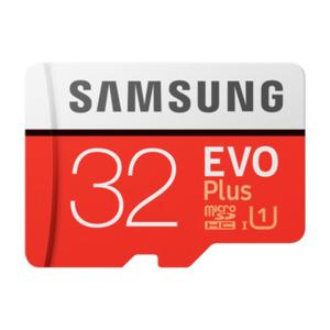 Samsung Evo Plus 32 GB microSDHC Speicherkarte (95 MB/s, Class 10, UHS-I, U1)