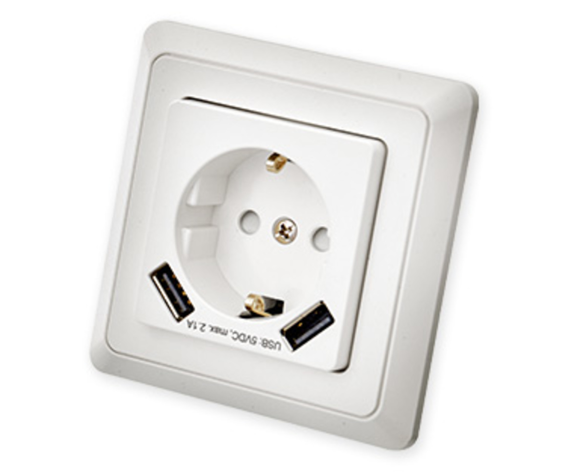 Bild 3 von EASYHOME®  Schalter-/Steckdosen-Sortiment