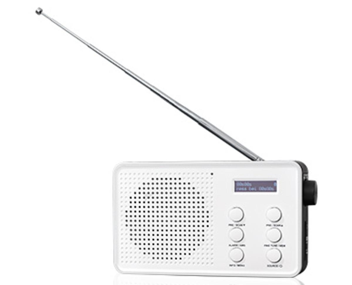 Bild 1 von MEDION®  Tragbares DAB+/UKW-Radio