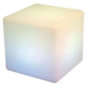 I-Glow LED Garten-Leuchte, Würfel ca. 60 x 60 cm