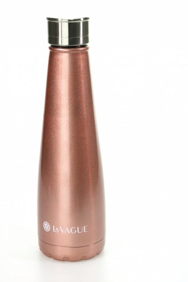 LA VAGUE GRAVITY Edelstahl-Isolierflasche