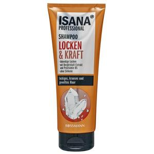 ISANA Professional Shampoo Locken & Kraft 0.52 EUR/100 ml