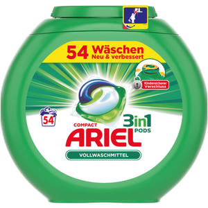 Ariel 3in1 PODS Vollwaschmittel 54 WL 0.24 EUR/1 WL