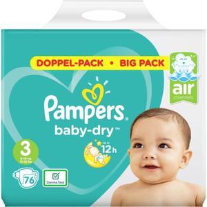 Pampers Baby Dry Windeln Doppel-Pack Gr. 3, 6-10 kg