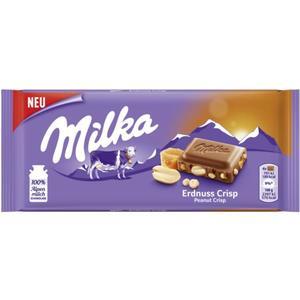 Milka Alpenmilchschokolade Erdnuss Crisp 1.10 EUR/100 g