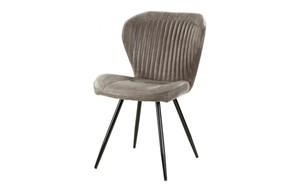 Stuhl Düren Vintage grau-braun