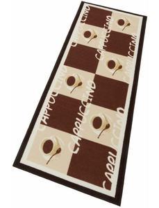 Küchenläufer, »Cappuccinio«, Andiamo, rechteckig, Höhe 5 mm, maschinell getuftet