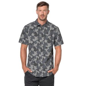 Jack Wolfskin Hemd Hot Chili Marble Shirt S grau