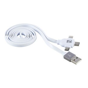 USB-Ladekabel in Weiß