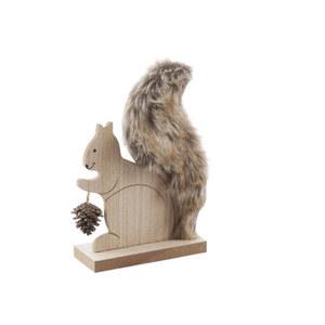 """Holz-Figur """"Eichhörnchen"""""""