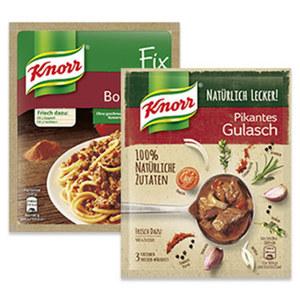 Knorr Fix oder Knorr Natürlich Lecker versch. Sorten, jeder Beutel