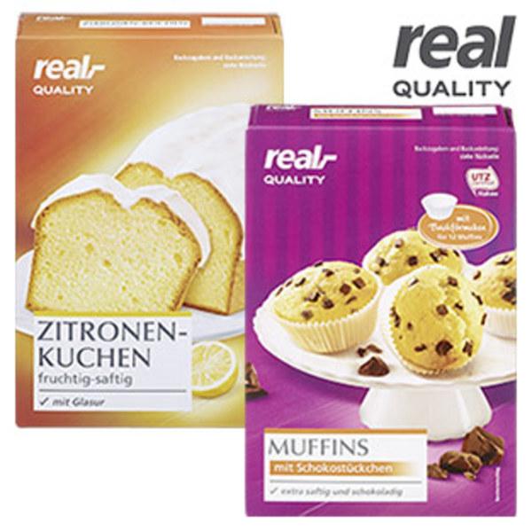 Backmischung Zitronen Kuchen Mit Glasur Oder Muffins Mit