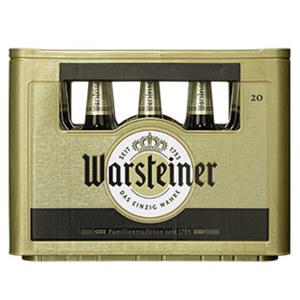 Warsteiner Pils, Alkoholfrei oder Herb 20 x 0,5 Liter, jeder Kasten