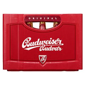 Budweiser 20 x 0,5 Liter, jeder Kasten