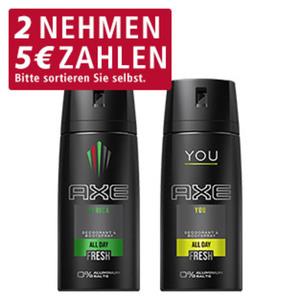 Axe Bodyspray versch. Sorten, 150-ml-Dose