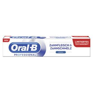Oral-B Zahncreme Professional Zahnfleisch & Zahnschmelz jede 50-ml-Packung