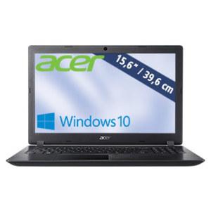 Notebook Aspire 3 (A315-33-C7HB) · HD-Display · Intel® Celeron® N3050 (bis zu 1,6 GHz) · Intel® HD Graphics · USB 2.0, USB 3.0