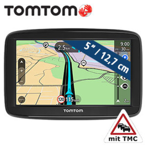 Navigationssystem Start 52 Europe inkl. Free Lifetime Maps** · Fahrspurassistent · TMC-Modul im Ladekabel integriert · KFZ-Halterung    **weitere Infos unter http://www.tomtom.com/de_de/maps/lifet