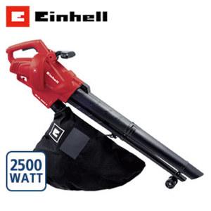 Elektro-Laubsauger GC-EL 2500 E 2.500 Watt, Blas-Luftstrom 2400 km/h, max. Saugleistung 650 m³/h, Häckselfunktion 10 : 1, Fangsackvolumen 40 Liter
