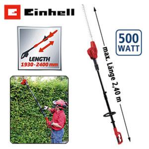 Elektro-Stab- Heckenschere GC-HH 5047 Schwertlänge: 585 mm, Schnittlänge: 470 mm, Schnittstärke: 15 mm, Schneidwinkelverstellung