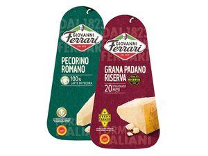 Giovanni Ferrari Grana Padano/ Pecorino Romano g.U.