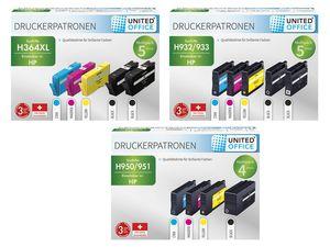 UNITED OFFICE® HP Druckerpatronen-Multipack