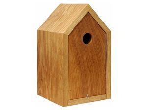 dobar Vogelhaus Design-Nistkasten, Eiche geölt