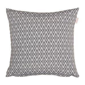 Kissenhülle Pixel - Webstoff - Grau, Esprit Home
