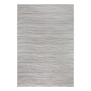 Teppich Bolonia I - Kunstfaser - Hellgrau / Weiß - 80 x 200 cm, andiamo