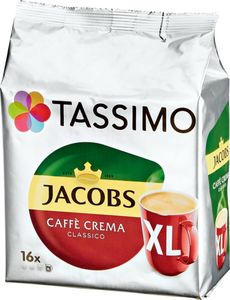 Jacobs Tassimo Caffé Crema Classico XL, 16 Kapseln