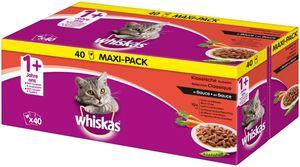 Whiskas ® Adult 1+ Klassische Auswahl in Sauce 40x100g