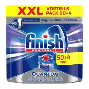 Finish Quantum XXL, Spülmaschinentabs, 50+4 Tabs Regular