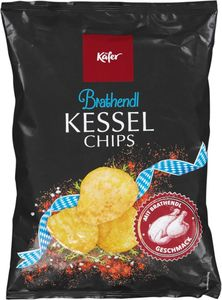 Käfer Kesselchips Brathendl 125g