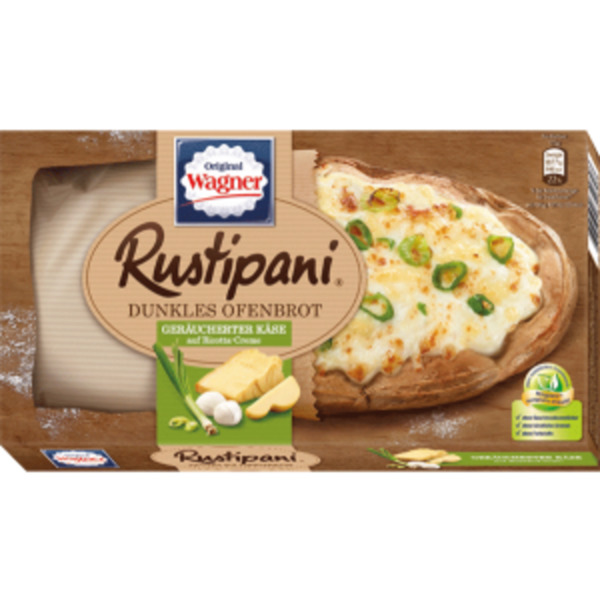 Original Wagner Rustipani oder Steinofen Bäckerkruste
