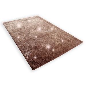 Teppich STELLA BROWN - braun - 80x150 cm