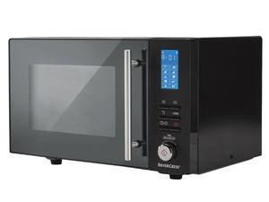 SILVERCREST® Mikrowelle SMW 800 D4, schwarz