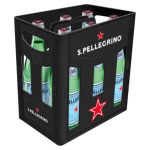 S. Pellegrino Mineralwasser Medium 6x1l Glasflasche