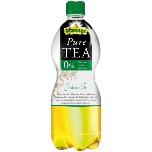 Pfanner Pure Tea Grüner Tee 1l