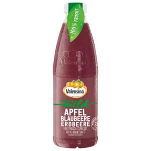 Valensina natürlich mild Apfel Blaubeere Erdbeere 1l
