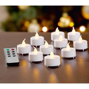 I-Glow LED-Teelichte 10er-Set