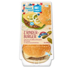 PENNY heat&eat Rinderburger