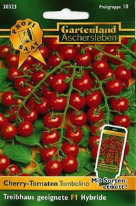 Tomaten Tombolino, Gemüse Samen Treibhaus geeignete F1 Hybride Gartenland Aschersleben