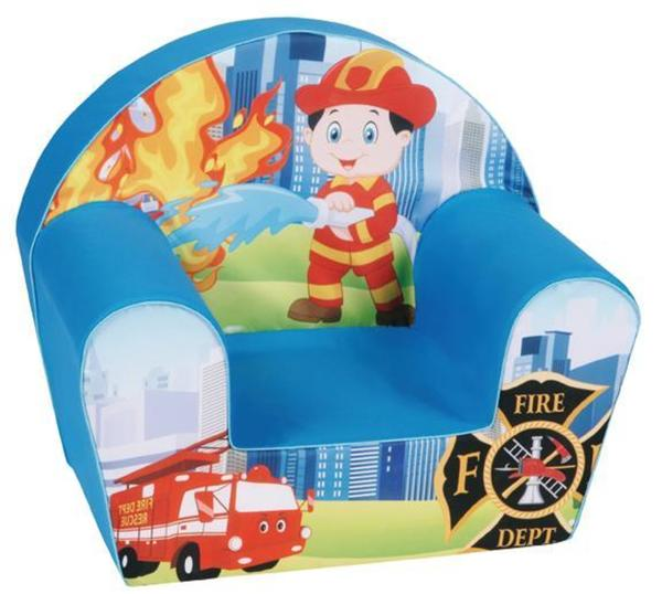 Knorrtoys Kindersessel Feuerwehrmann