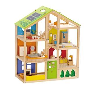 Hape Vier-Jahreszeiten Haus mit Möbel