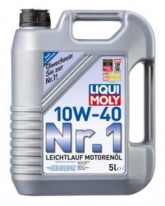 Liqui Moly Motoröl 10W40 Nr. 1 Leichtlauf ,  5 l