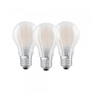 Osram LED Glühbirne Base CLA60 ,  E27 - 7 W, 3er Packung